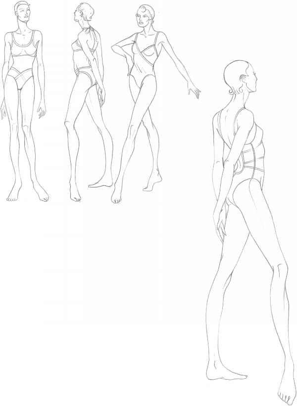 Drawn todies Fashion Fashion Martel Drawing Drawing