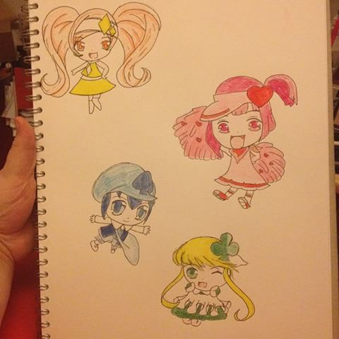 Drawn todies chibi #15