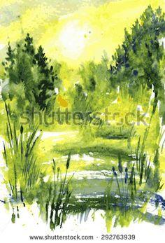 Drawn todies landscape Anderson on Pixie sunlight landscape