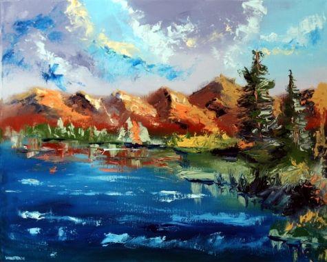 Drawn todies landscape Pinterest on Adam… Impressionist Webster