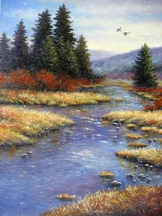 Drawn todies landscape Ideas 00 Oil Afternoon2 $145
