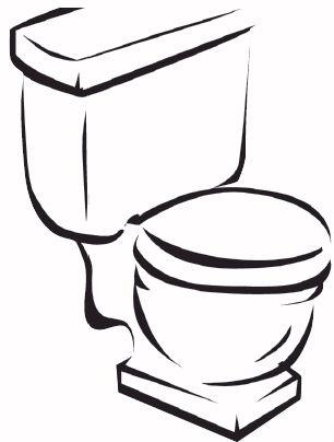 Drawn toilet About #diy Unclog #plumbing Toilet