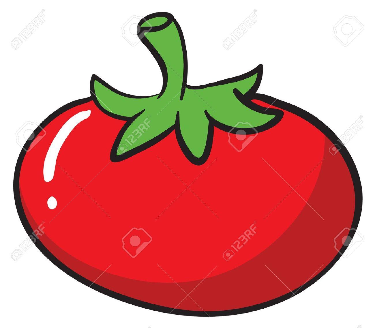 Drawn tomato cute cartoon Clipartwork Tomato Clip of Tomato