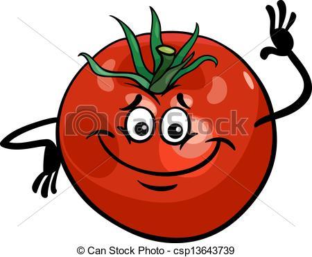 Drawn tomato cute cartoon Cartoon tomato Vectors cute cute