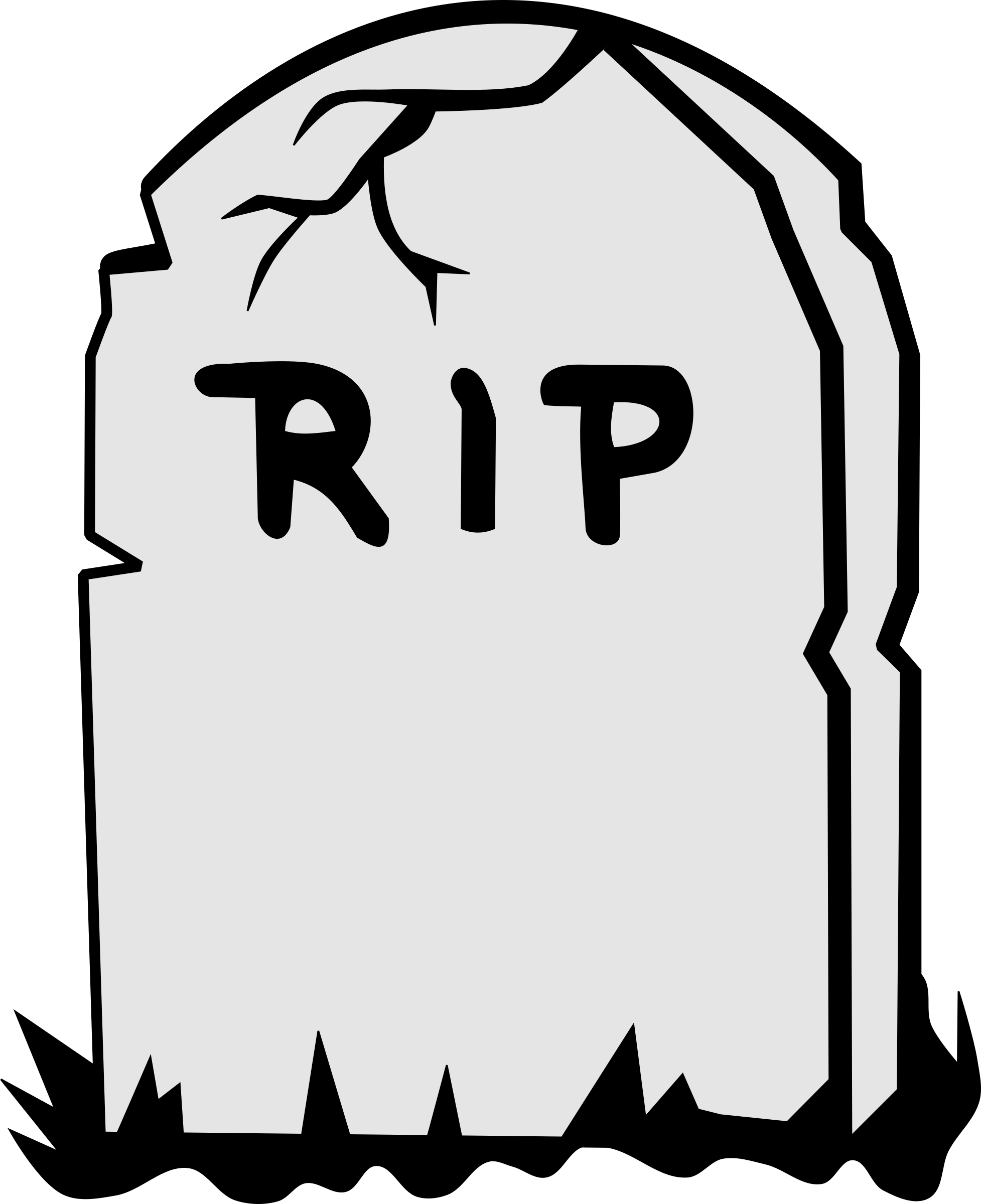 Drawn tombstone day the dead Kanika Not The Ill Do