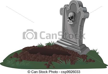 Drawn tombstone halloween decoration Of tombstone decorations  Vectors