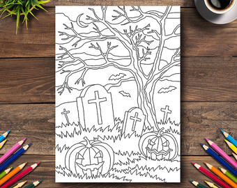 Drawn tombstone printable #14