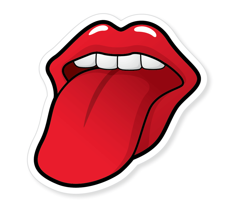Drawn tongue Create inspired Rolling Stones Rolling