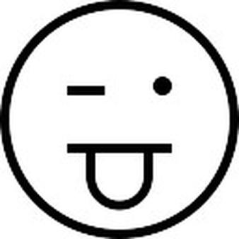 Drawn tongue icon Stroke Tongue and Stuck Download