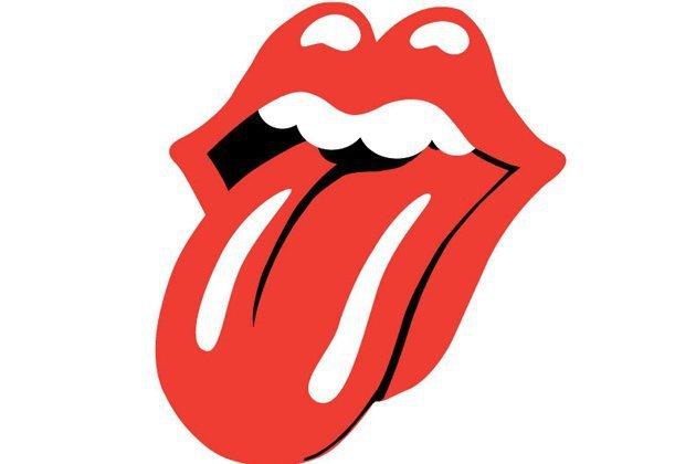 Tongue clipart rolling stones #7