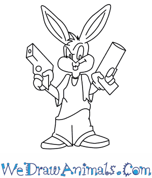 Drawn amd gangster Bunny How Bugs Tunes