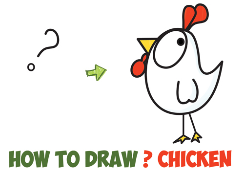 Shapes clipart chicken #3