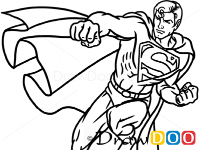 Drawn superman cartoon character To Cartoon  Superman Characters