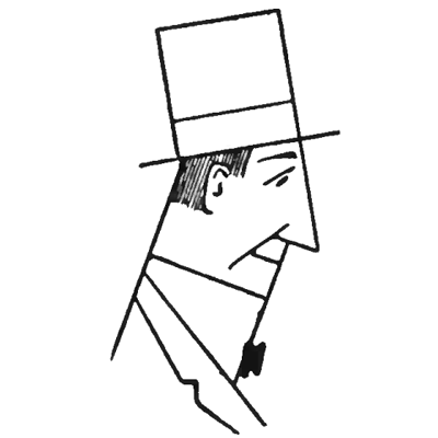 Drawn top hat line drawing For  by by for
