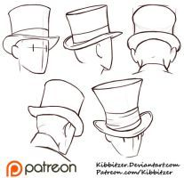 Drawn top hat On Pinterest Kibbitzer best Hats