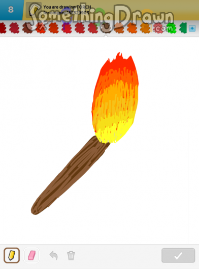 Drawn torch #2