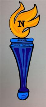 Drawn torch national junior honor society Torch Overview Honor Society /