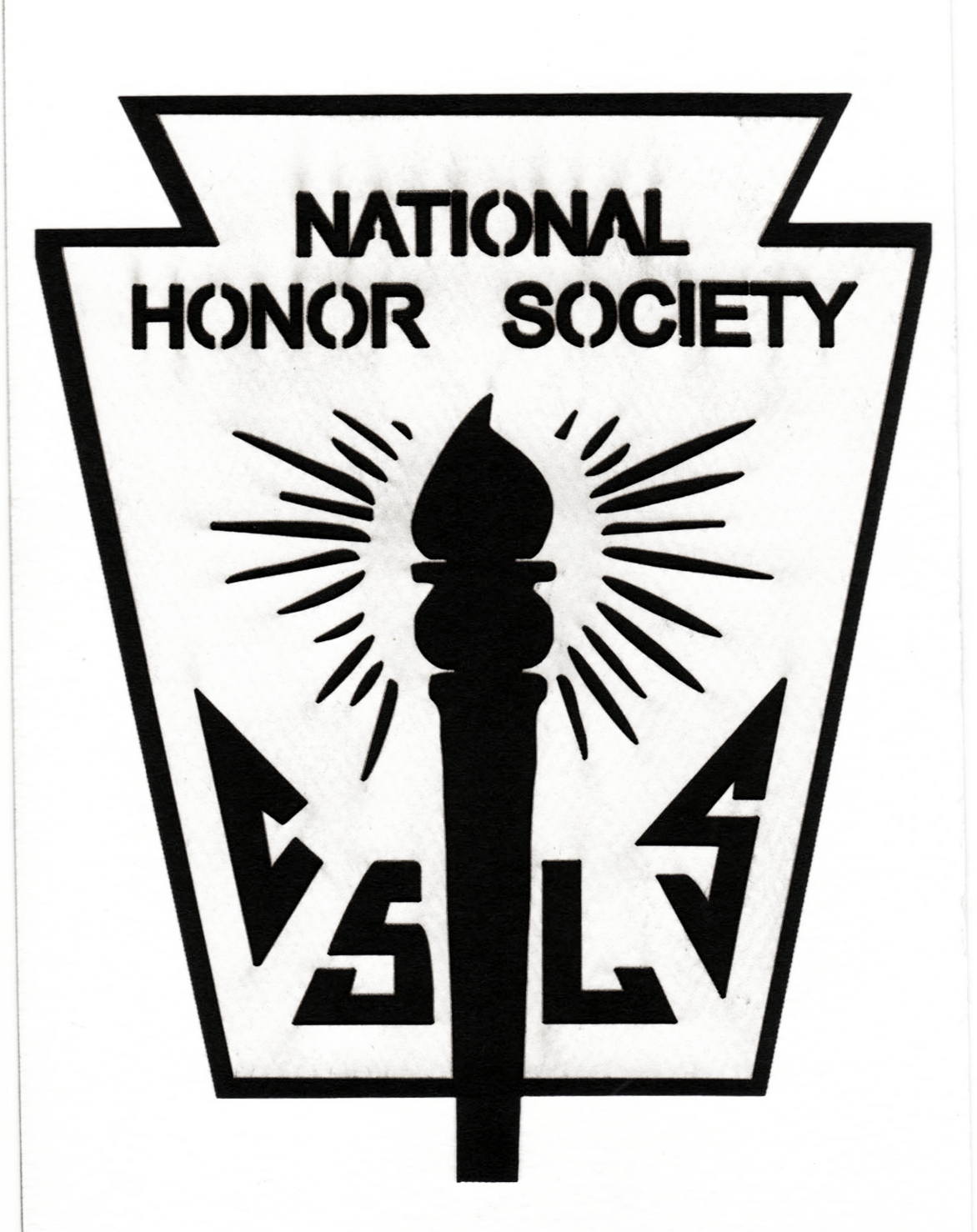 Drawn torch national junior honor society National Society Honor Clip Clip