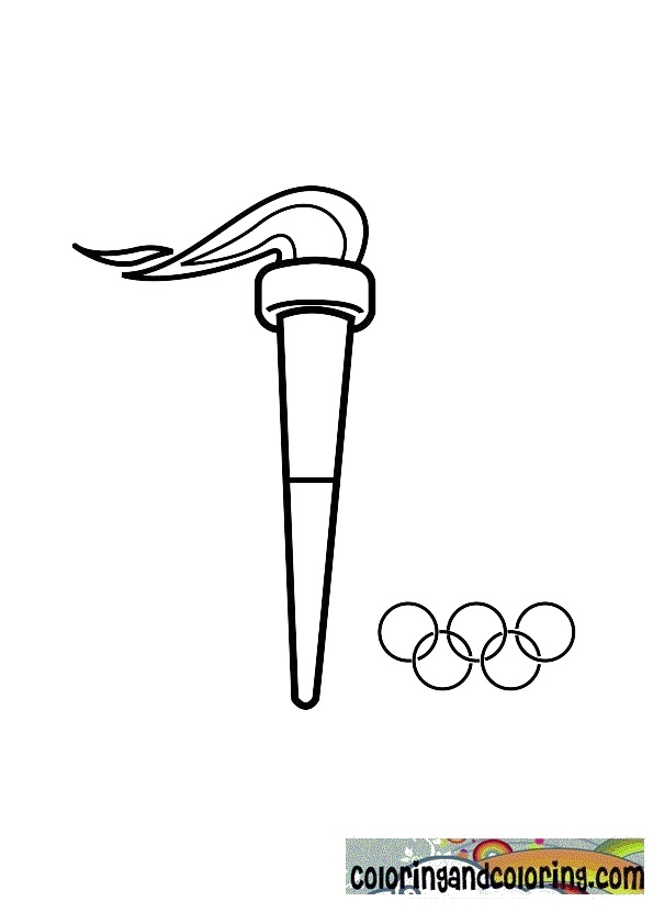 Drawn torch olympics Drawing Gallery: Image olympic Gallery