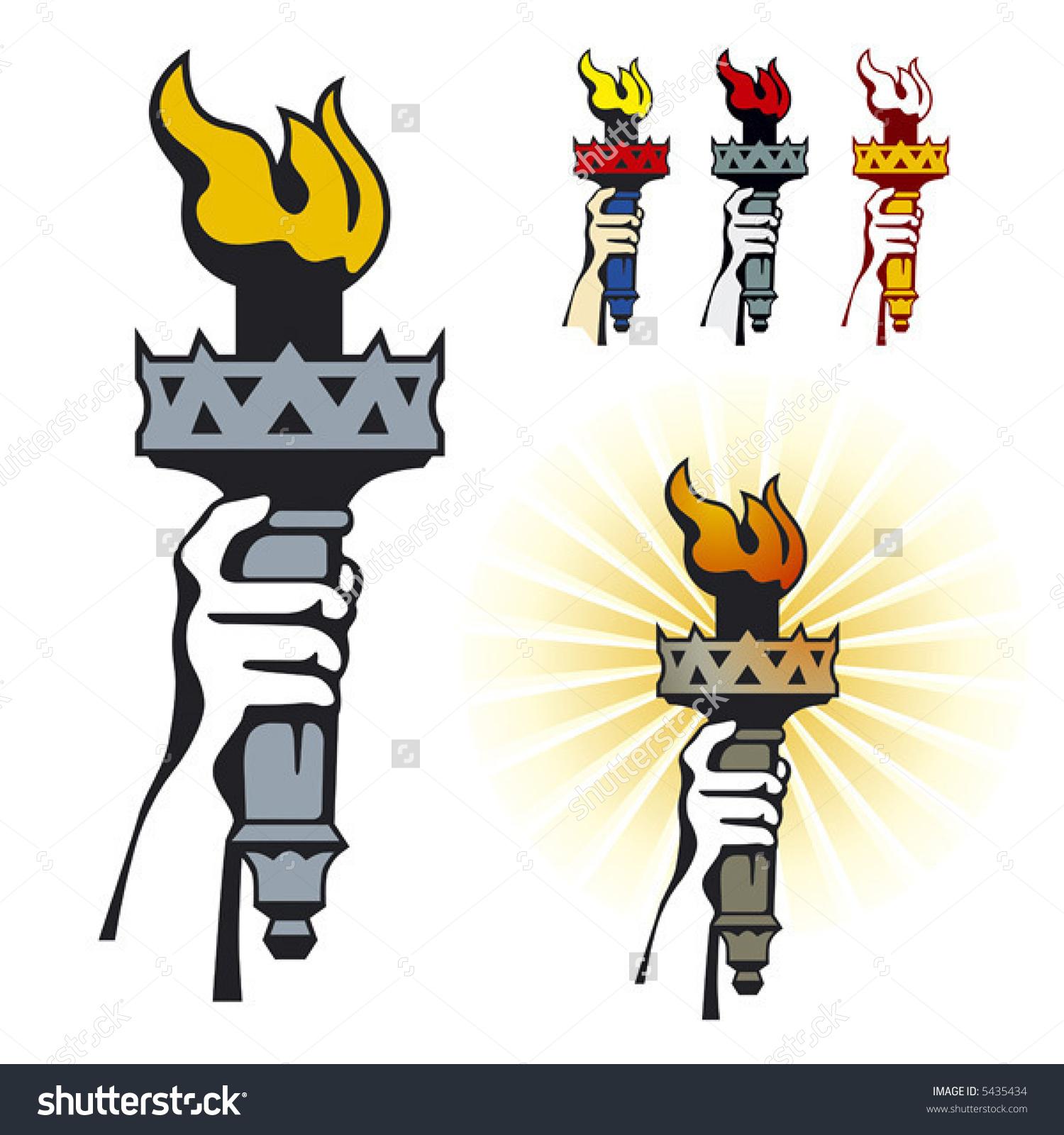 Torch clipart liberty torch Statue Liberty torch Statue liberty