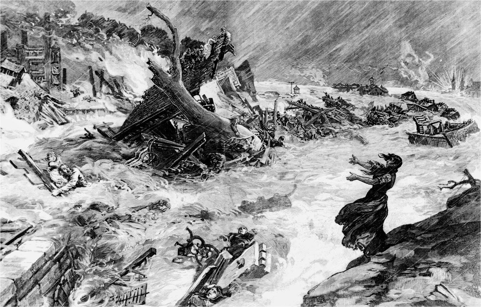 Drawn tornado calamity Akin Our churning Calamity': than