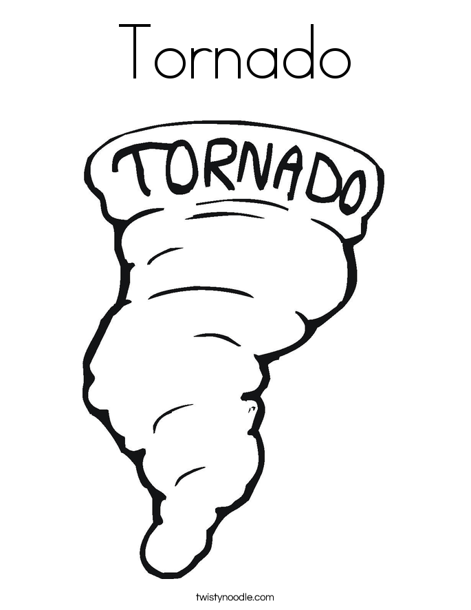 Drawn tornado coloring page Coloring Page Page Tornado Twisty
