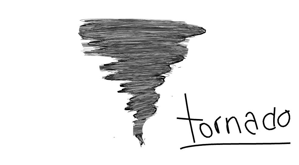 Drawn tornado doodle Doodle ly Tornado Tornado