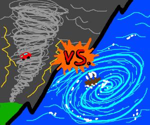 Drawn tornado whirlpool Whirlpool (drawing Tornado whirlpool by