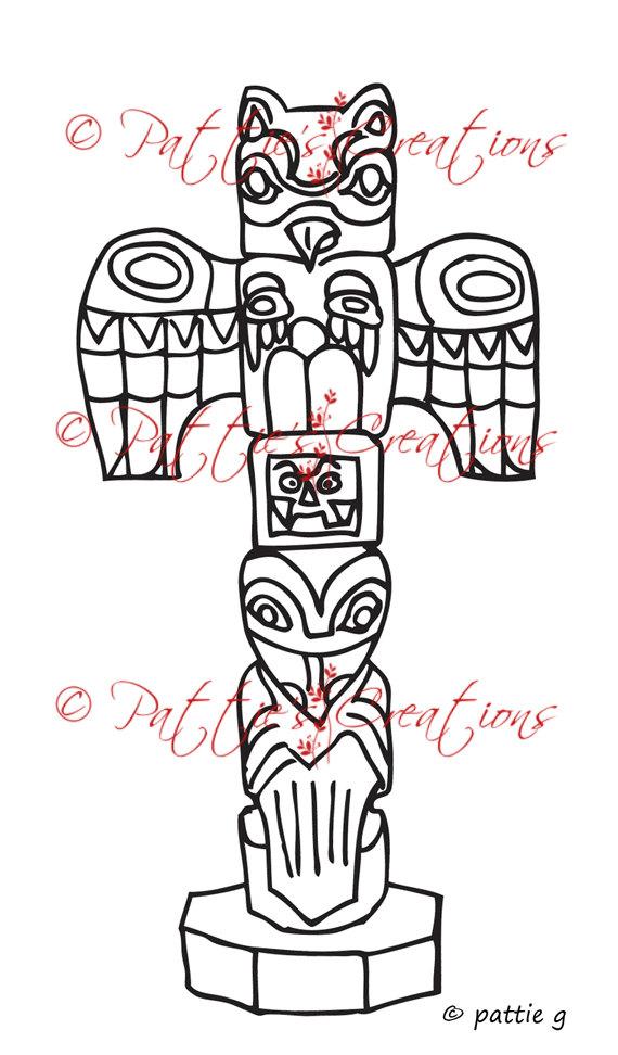 Totem Pole clipart alaska Pole Totem Like Alaskan this