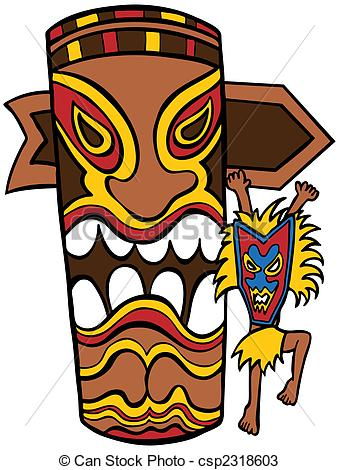 Totem Pole clipart cartoon Pole and Witch character cartoon