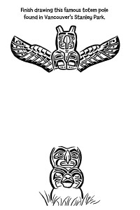 Drawn totem pole canadian Stanley  FREE Totem Pole