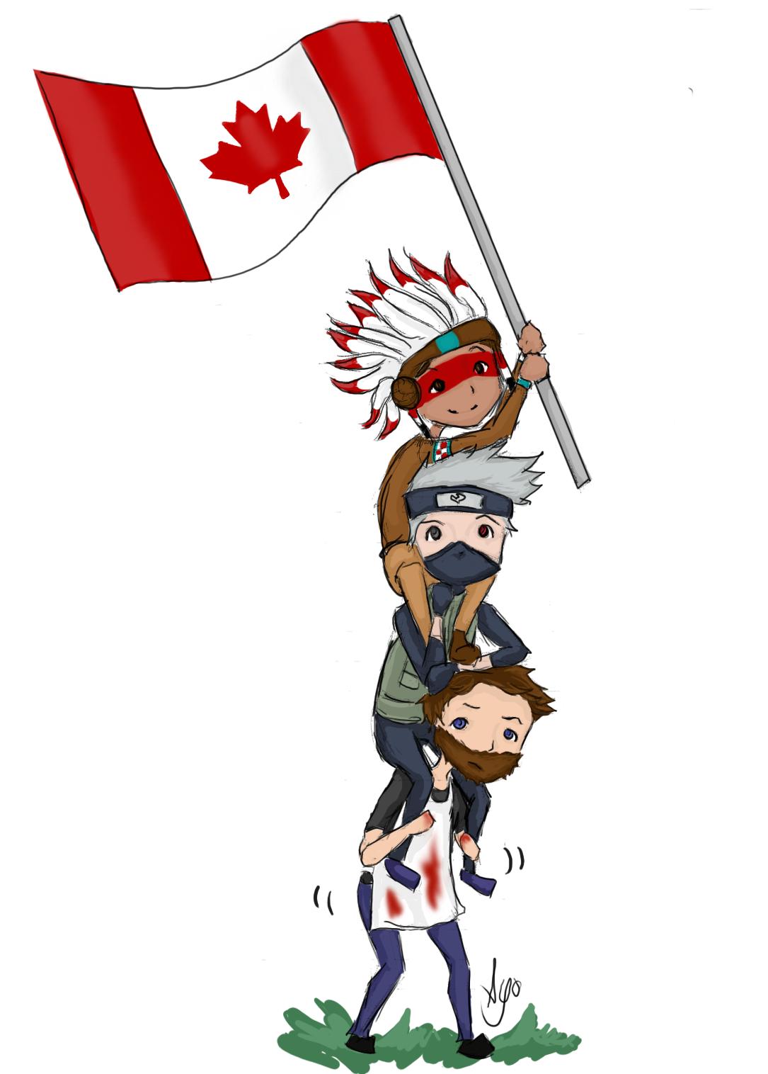 Drawn totem pole canadian Canada mindcrack pole! Team totem