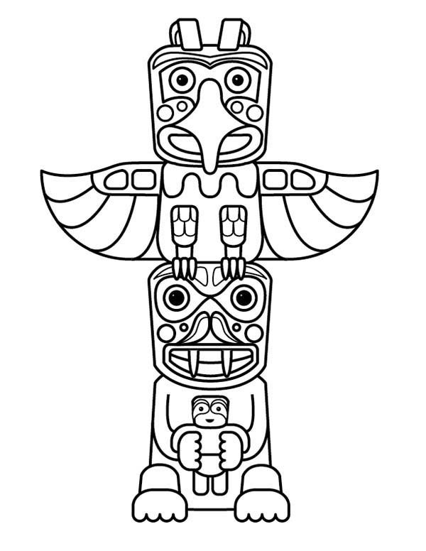 Totem Pole clipart aboriginal Day Native images totem American