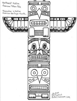 Totem Pole clipart cherokee Pole Totem The best 25+