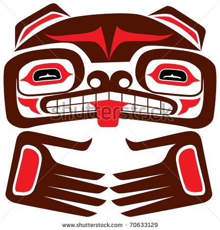 Totem Pole clipart iroquois On Pinterest american vector best