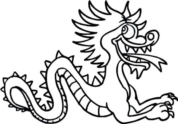 Drawn chinese dragon chinese animal #1