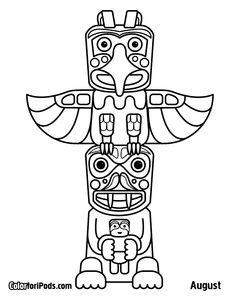 Totem Pole clipart tlingit indians Images totem pole St pole
