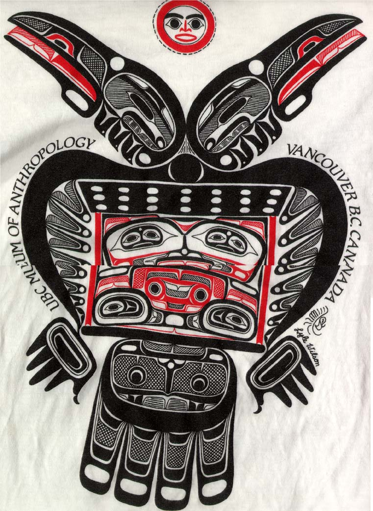 Drawn totem pole eskimo Search Database Results Howard T