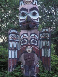 Drawn totem pole eskimo Are Totem three main Haida