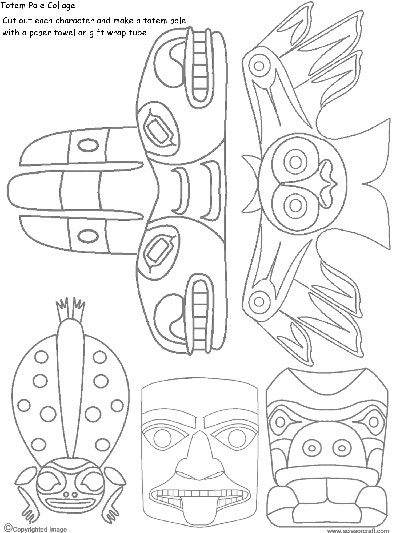 Totem Pole clipart drawn How Draw Cedar to 25