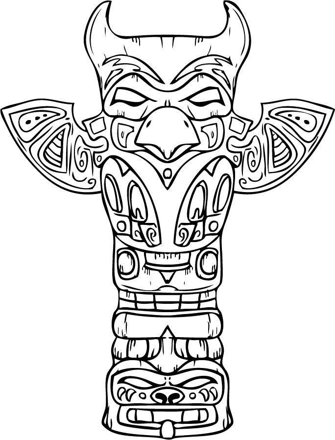 Totem Pole clipart tlingit indians Best more Pinterest on pole