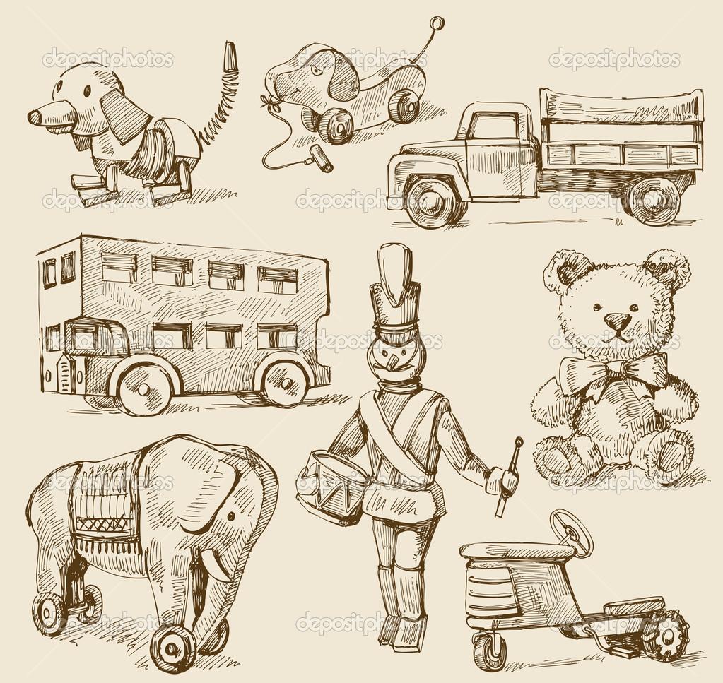 Drawn toy  Illustrations cuentos de Google