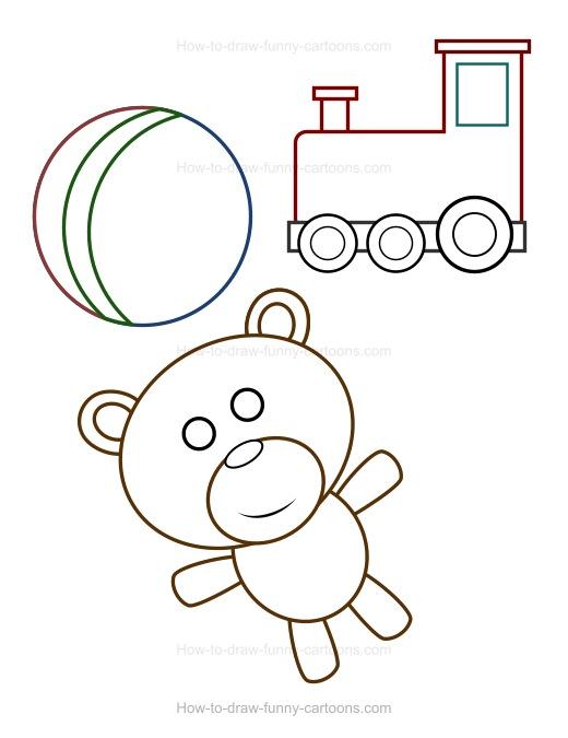 Drawn toy How Toys Cartoon to Draw