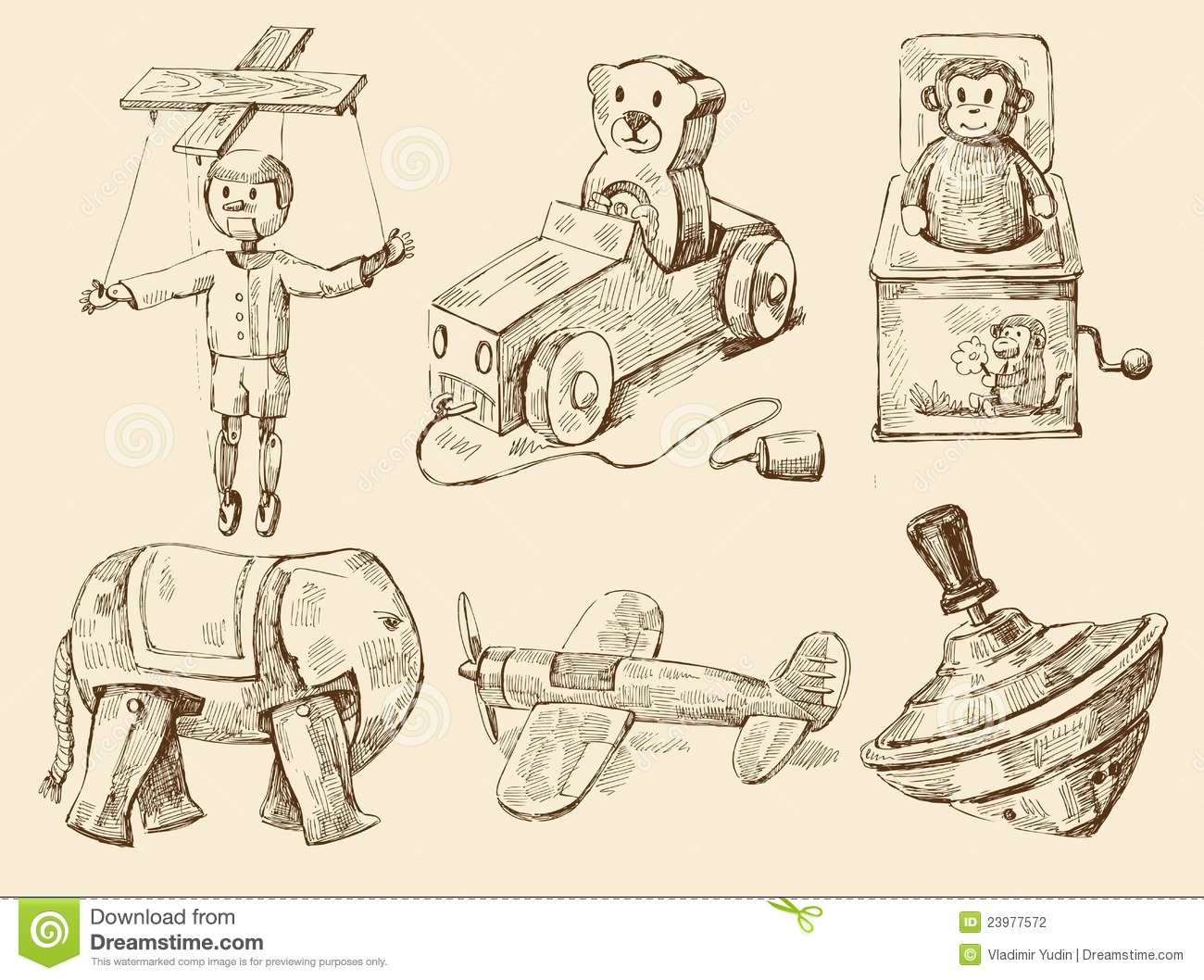 Drawn toy Search vintage Playgrounds Google