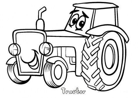 Tractor clipart child #1