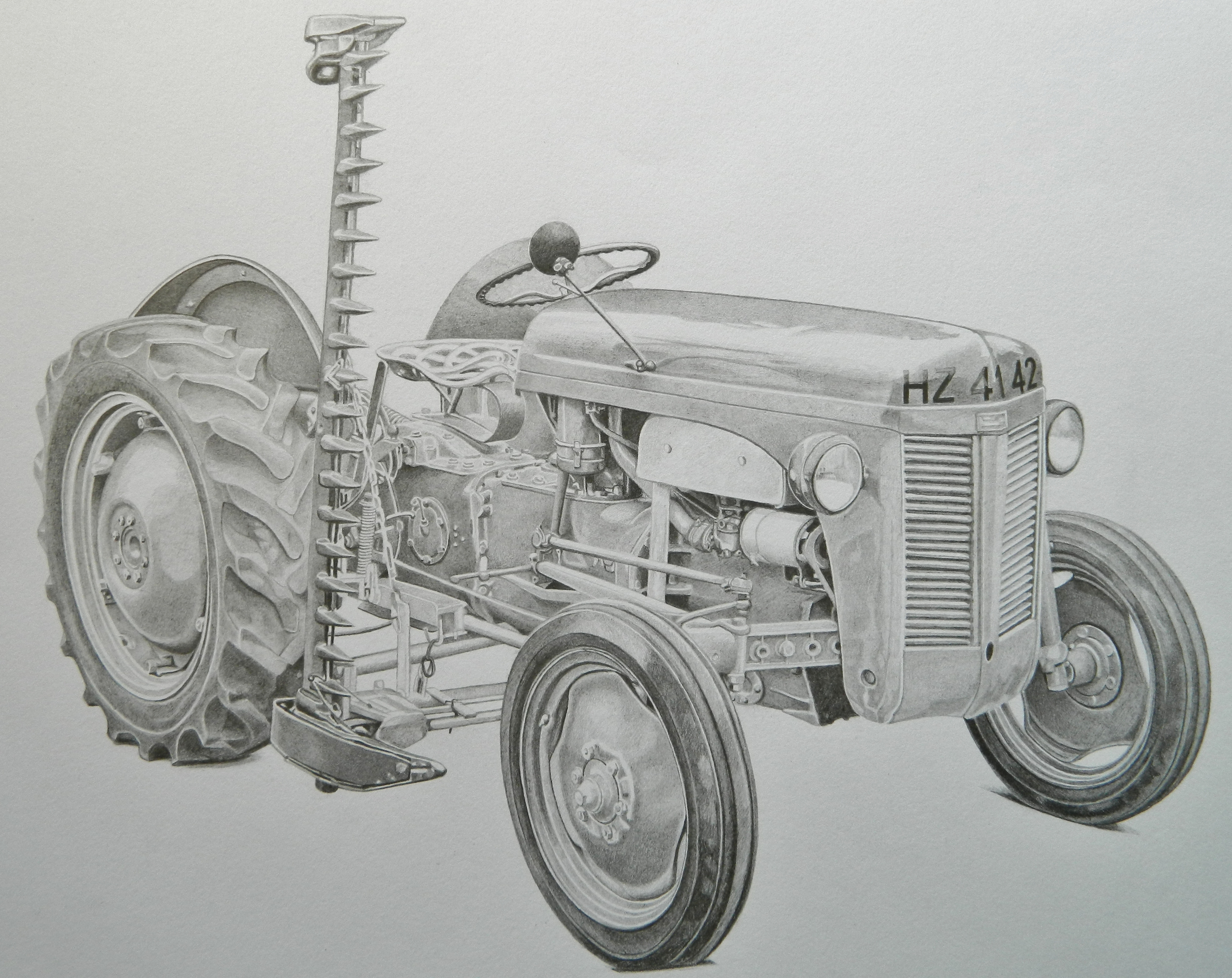 Tractor clipart massey #3