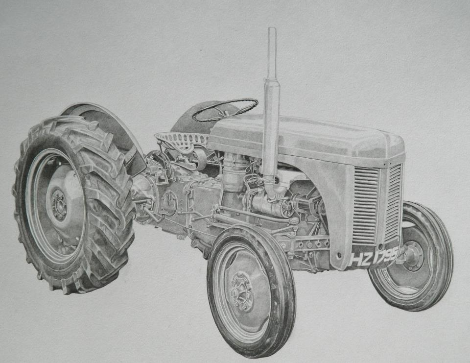 Tractor clipart massey #2