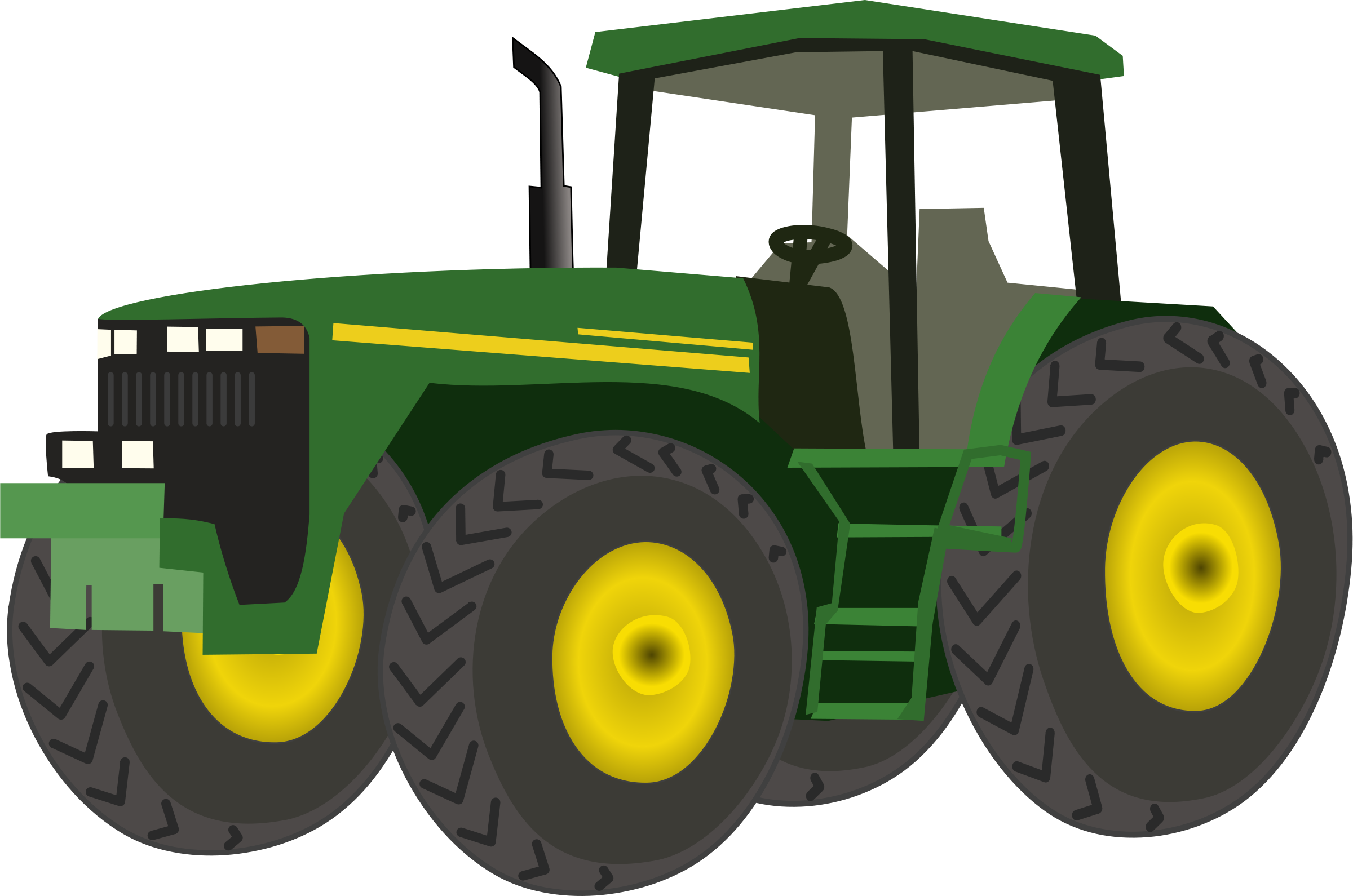 Tractor clipart transparent background #1