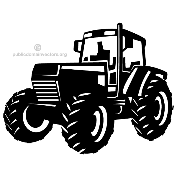 Tractor clipart indian tractor #1