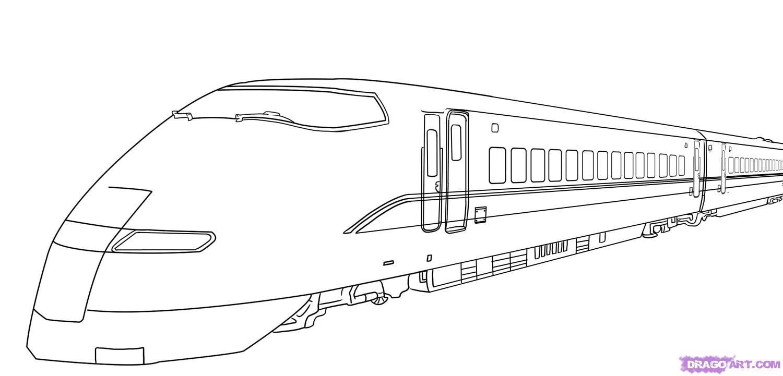 Drawn train Transportation Step train bullet by